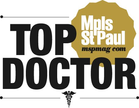 Dr. Hanson was awarded as a Top Doctor in the Twin Cities by MSP Magazine four years in a row.